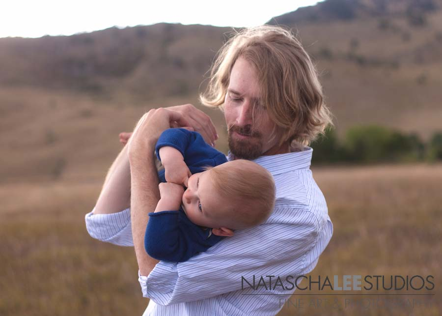 Broomfield, Colorado Baby Photography by Natascha Lee Studios - Father and Son