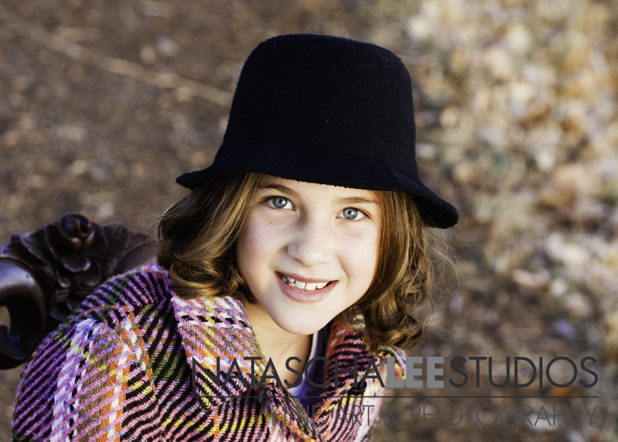 Littleton Cutie with her riding Hat | Family  Outdoors, Natural and Vibrant Photography by Natascha Lee Studios