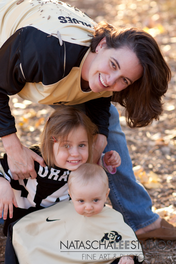 Client Raves from CU Buffs Fans, Thornton, Colorado Family Photographer Natascha Lee Studios