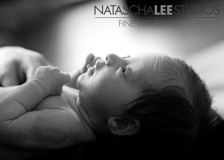 Newborn Baby Sweetness in Black and White | Golden, Colorado Baby Photography by Natascha Lee Studios
