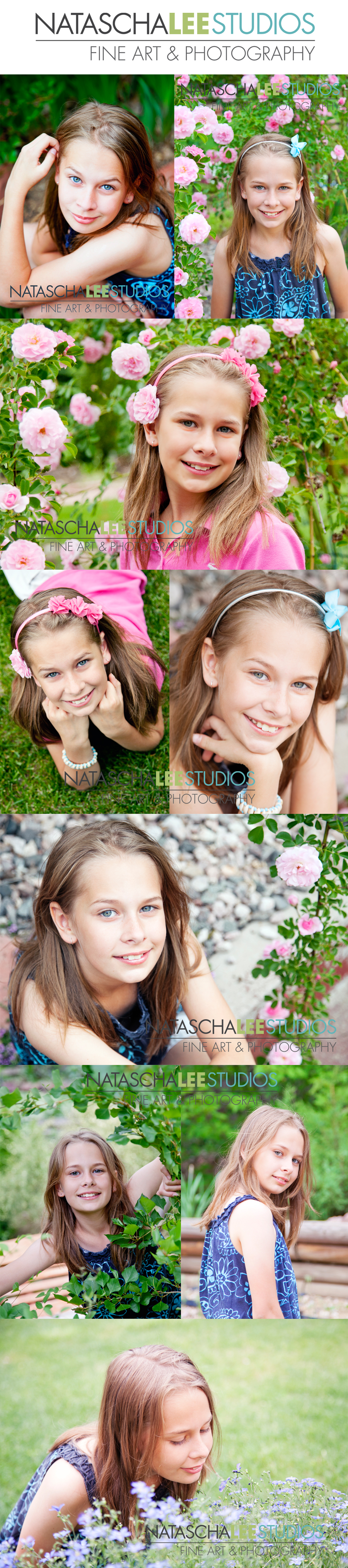 Outdoor Lovely Spring Flower Photo Session for Girl by Broomfield Colorado Baby Photography Natascha Lee Studios