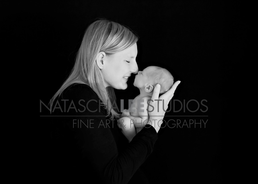 Natascha Lee Studios_Morrison Baby Photography - Baby boy and Mommy
