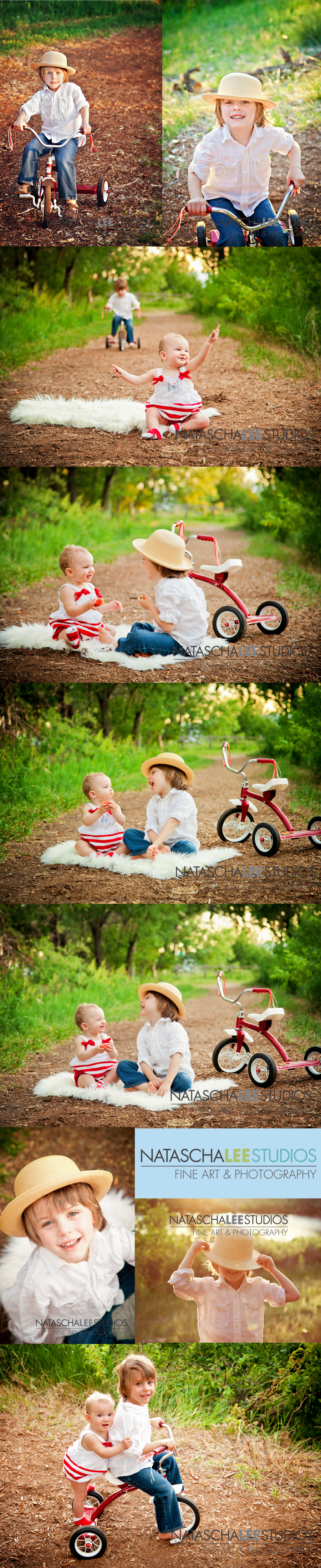 Kids playing at the park : Broomfield Childrens and Baby Concept Photography Session by Natascha Lee Studios