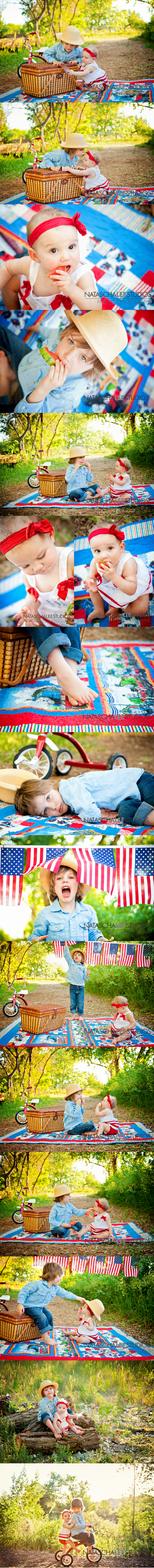 July 4th Children's Outdoor Concept Portraits by Broomfield Newborn, Baby, Children, and Family Photography Natascha Lee Studios