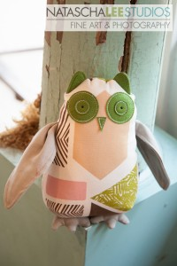 Natascha Lee Studios Dec 2012 promo with Rejuvanest: Stuff Owl