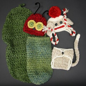 Hungry Caterpillar and Sock Monkey Photography Props : Natascha Lee Studios