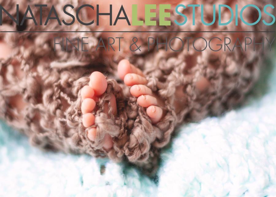 Natascha Lee Studios - Newborn Baby Toes!