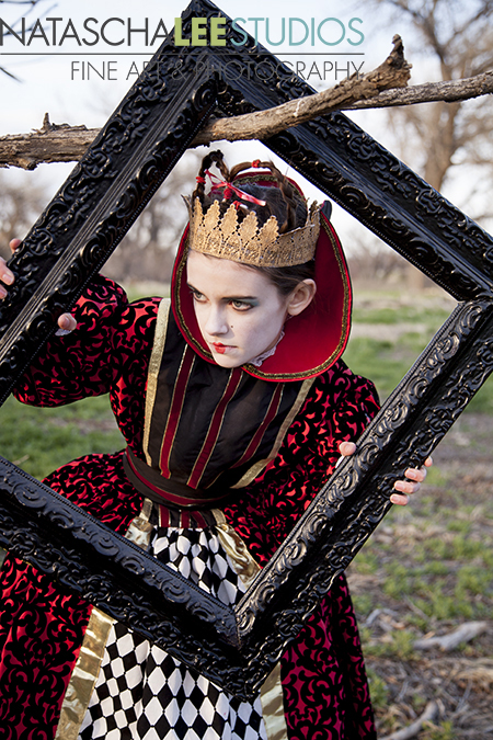 Alice in Wonderland Concept Shoot | Fanciful, Artistic Children's Portraits by Natascha Lee Studios (Broomfield, Colorado)