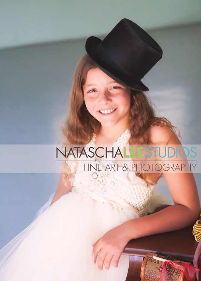 Broomfield, Colorado - Ballet Art Shoot for Dancers  by Natascha Lee Studios - Lovely Girl with Top Hat