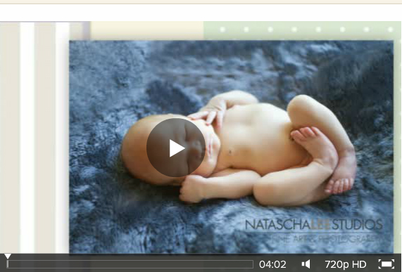 Golden, Colorado Newborn Portraits Video
