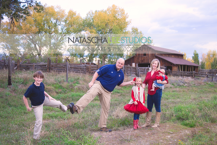 Broomfield Colorado Fall Family Portraits by Natascha Lee Studios