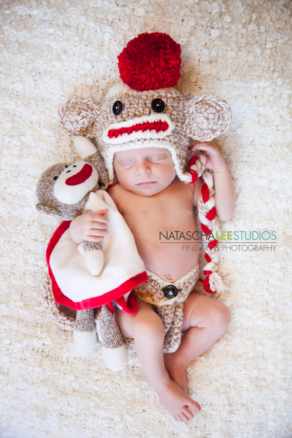 Littleton Colorado Portraits - Sock Monkey Baby girl - by Natascha Lee Studios - IMG_2438