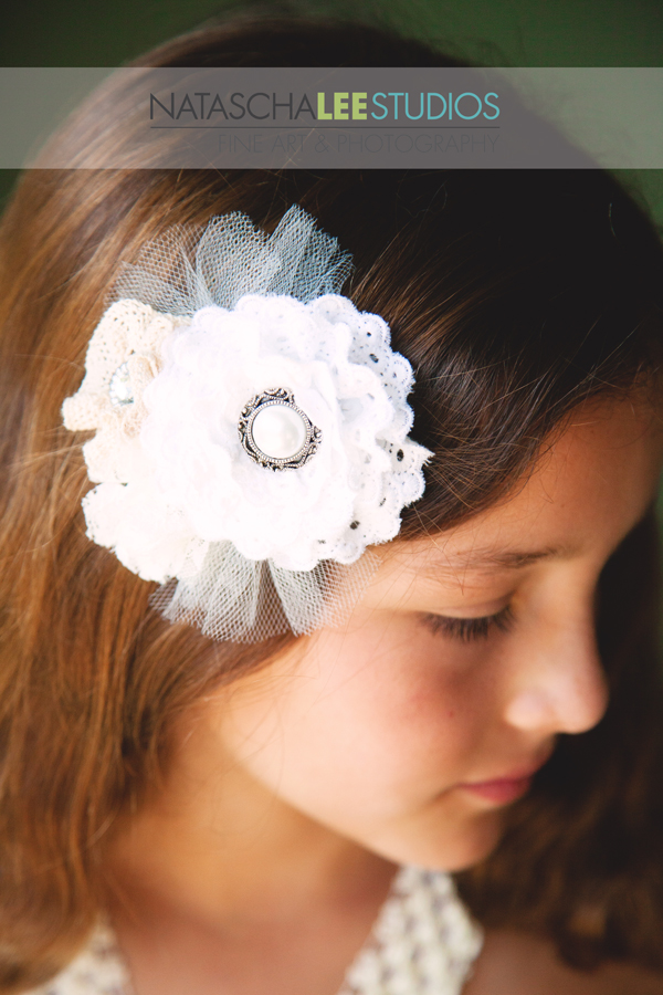 Lovely Girl with Custom Hairpiece - Children's Fine Portraiture in Littleton, Colorado