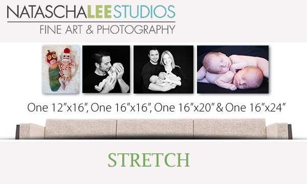 Canvas Clusters - Newborn twin photography in Westminster, Colorado