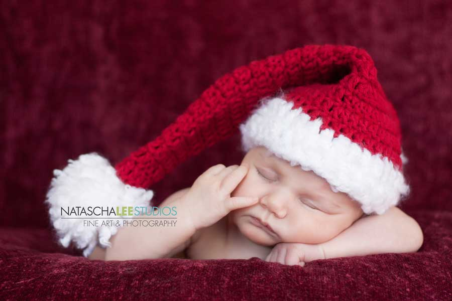 Cherry Creek Baby Portraits - Holiday Props - Christmas - Natascha Lee Studios