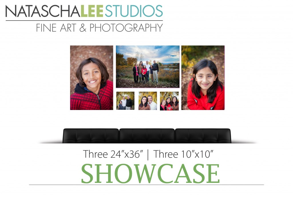 Denver Colorado Family Portraits Canvas Cluster by Natascha Lee Studios