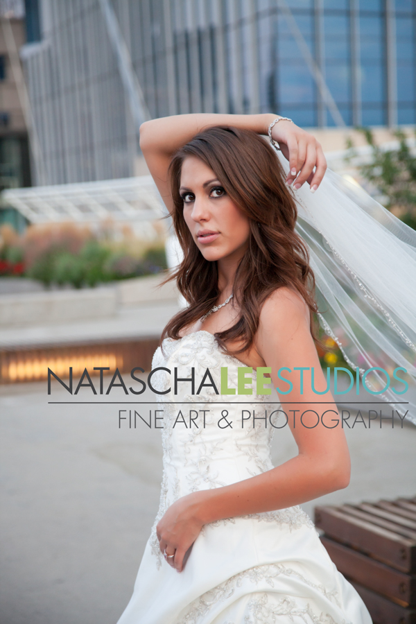 DEnver Colorado Urban Bride Portraits