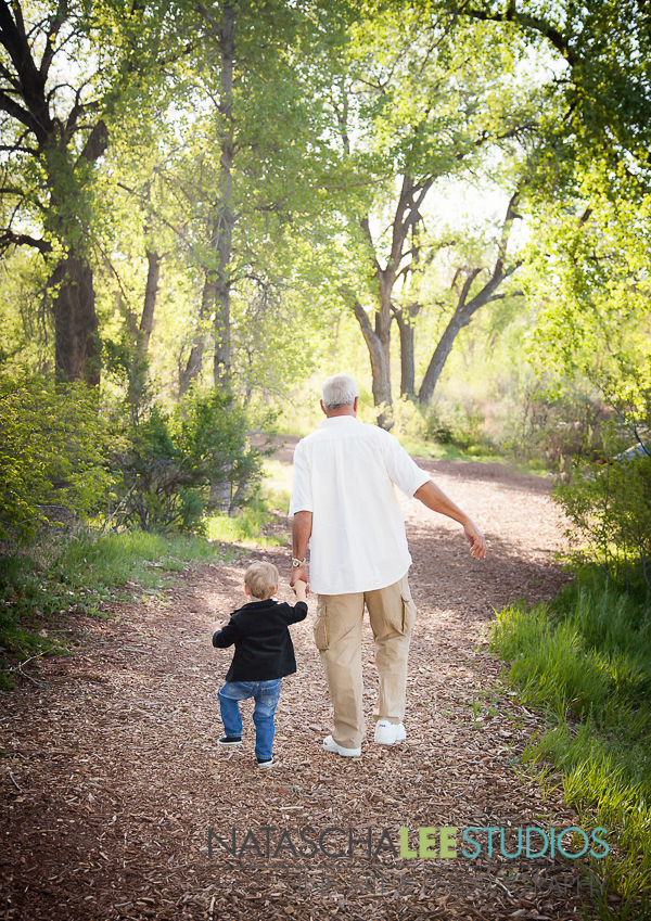 Centennial Portrait Photographer: Grandpa and Grandson by Natascha Lee Studios