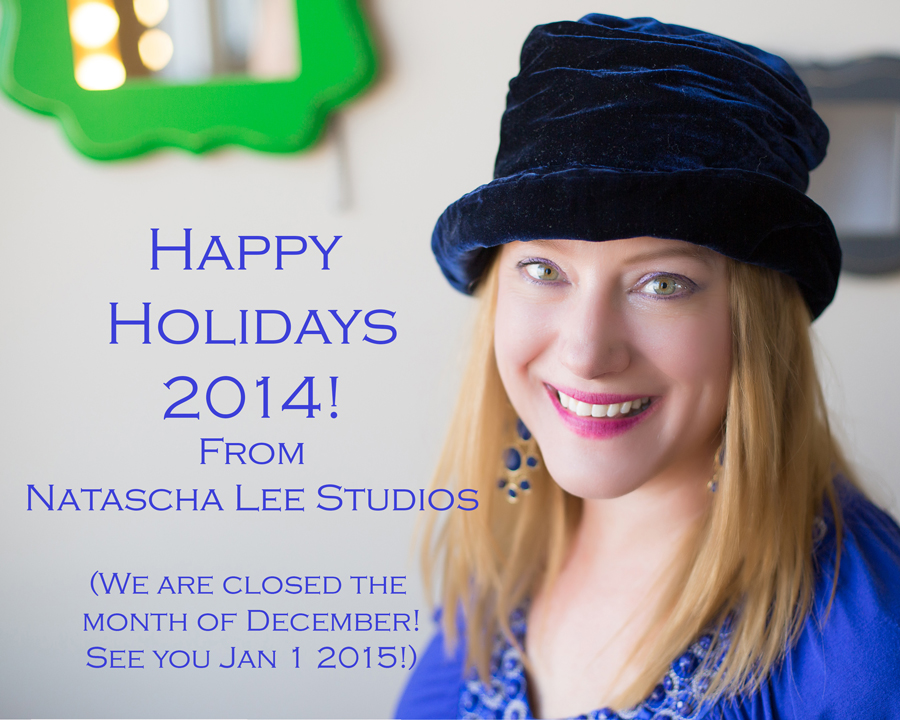 Happy Holidays from Natascha Lee Studios