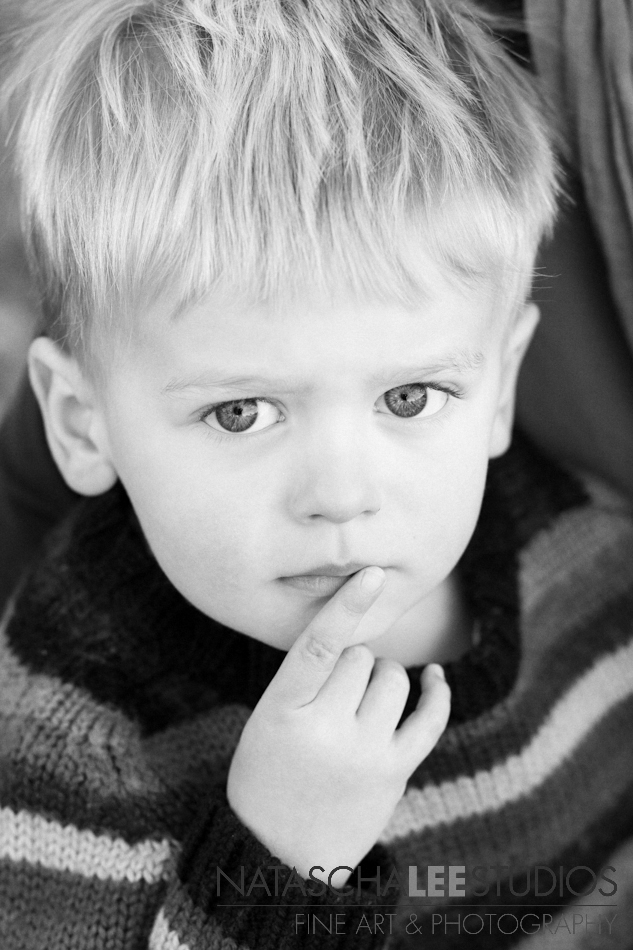 Westminster's Child Photography in Black and White  - 4 year old boy - Natascha Lee Studios - OS -  bw sfw