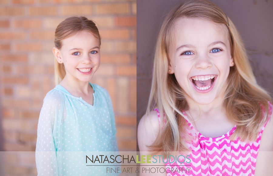 Denver Kids Girl Photography and Modeling Porfolio Headshots - Natascha Lee Studios - Miss H