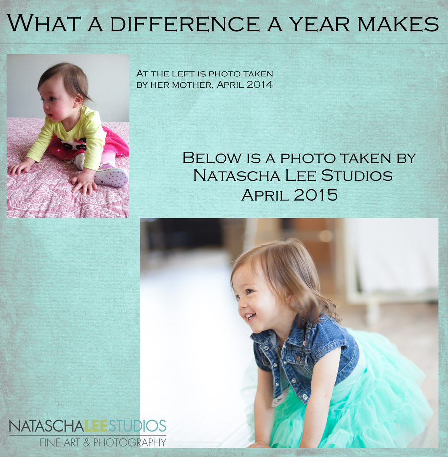 Denver Children's Photography – What a Difference A Year Makes