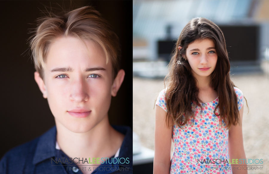 Artistic Portraits for Teen Girl and Boy Models