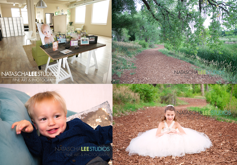 Denver Kid's Photography - Indoor Studio Portrait Sessions vs Outdoor Portrait Sessions