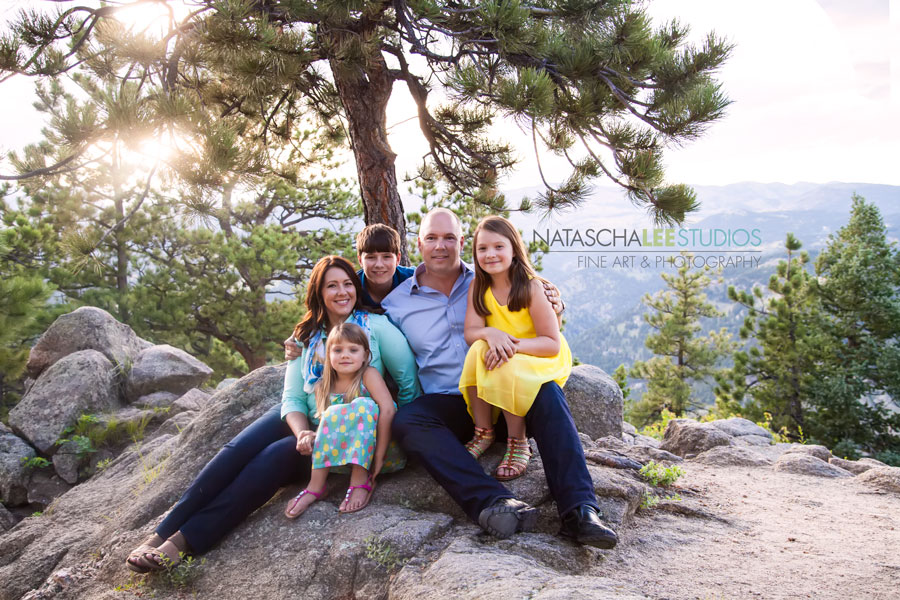 Boulder Family Photography - Mountain Outdoor Portraits by Natascha Lee Studios