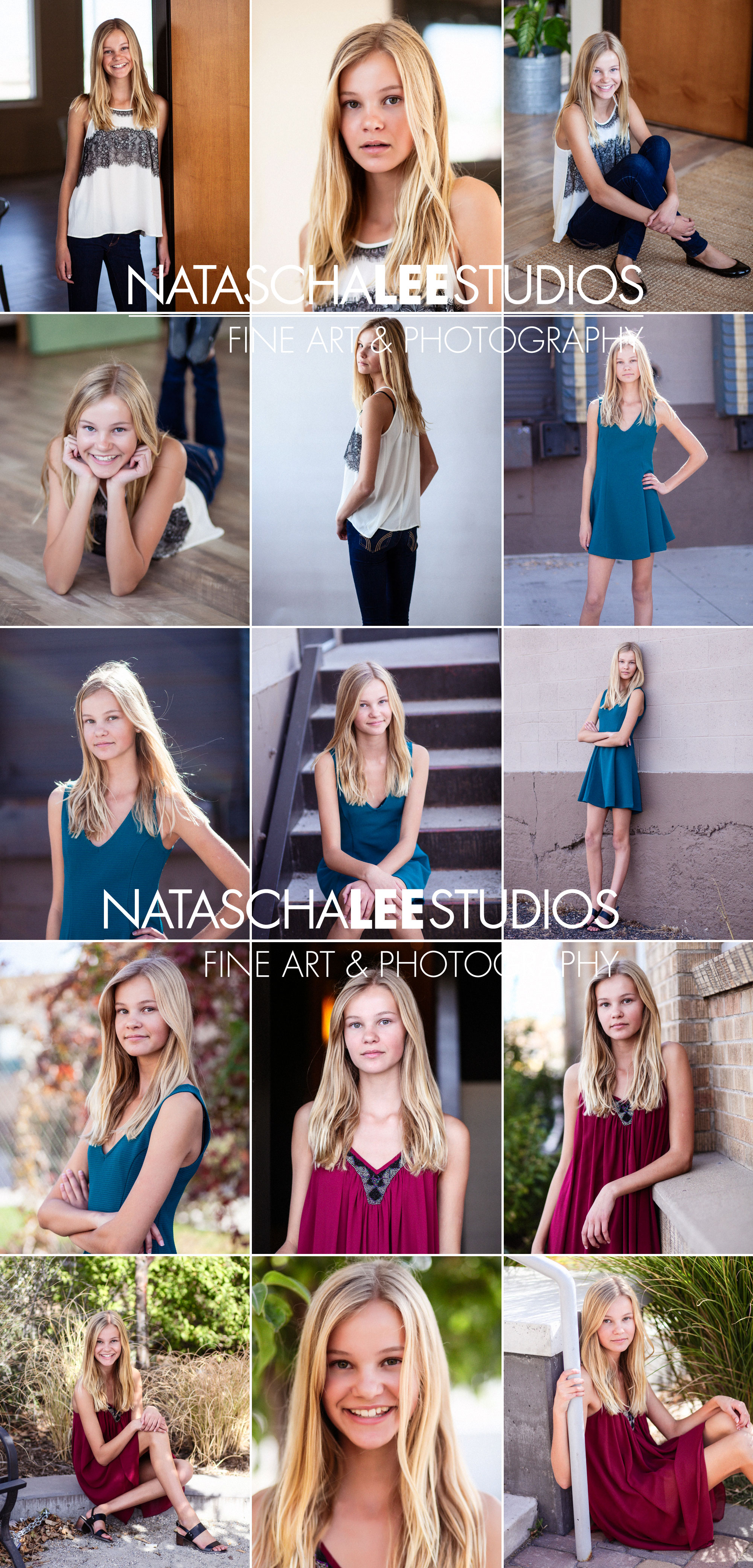 Denver Teen PreTeen Girl Model Headshots and Portfolio 12-yr-old-Model-Blog-Collage-eal-sfw