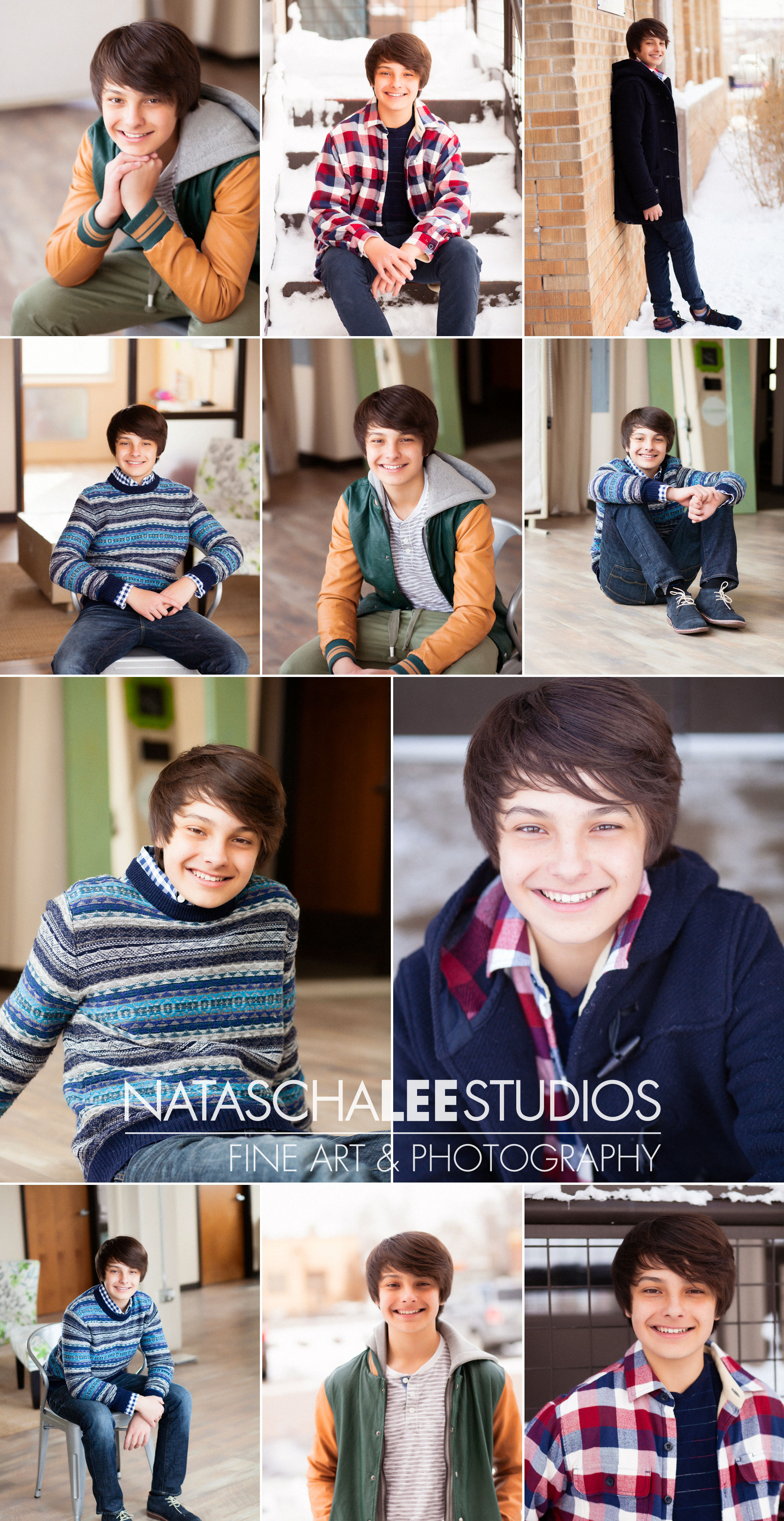 Denver Male Teen Model Portfolio Photos - Ronan-Blog-Collage-eal-sfw