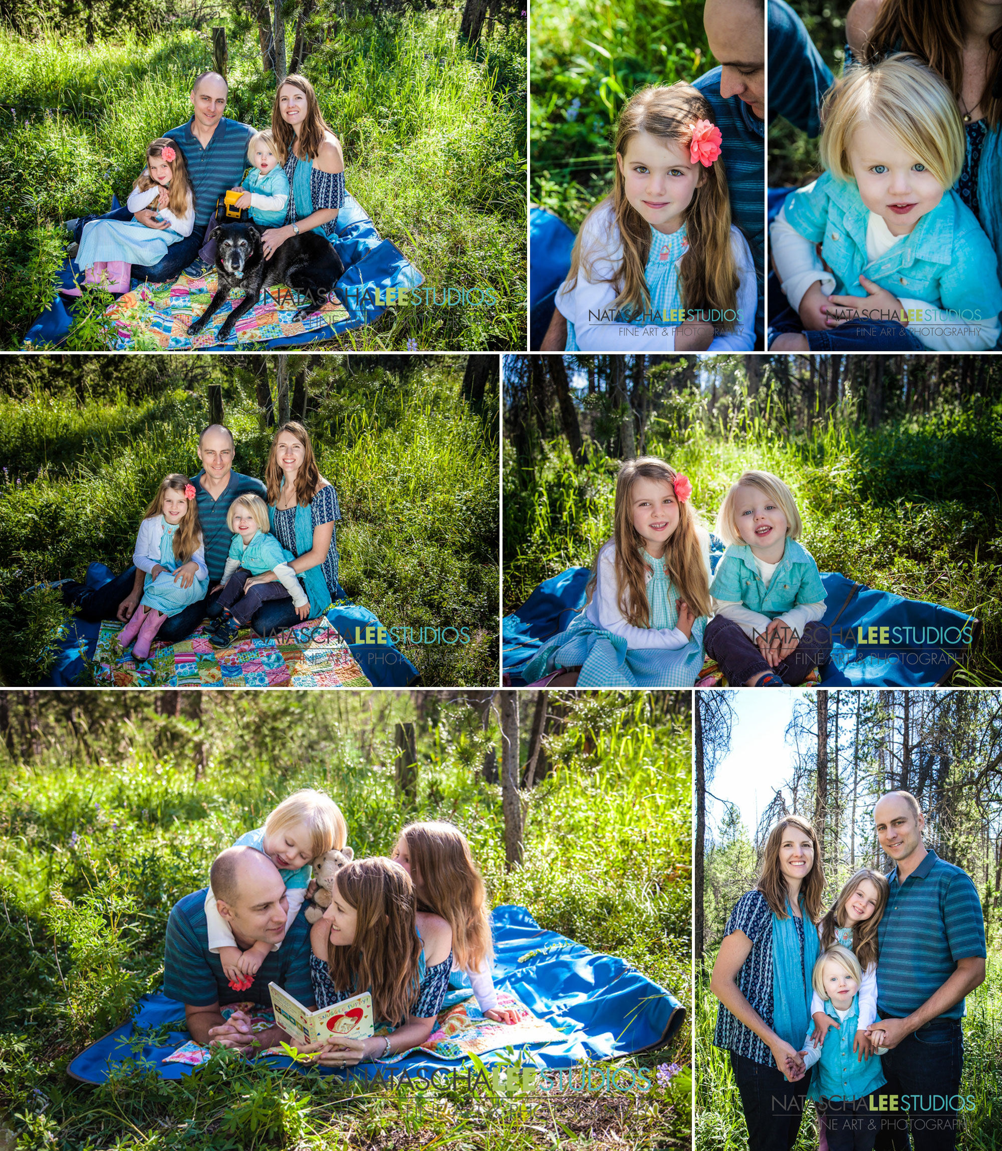 Fraser Winter Park Family Portraits