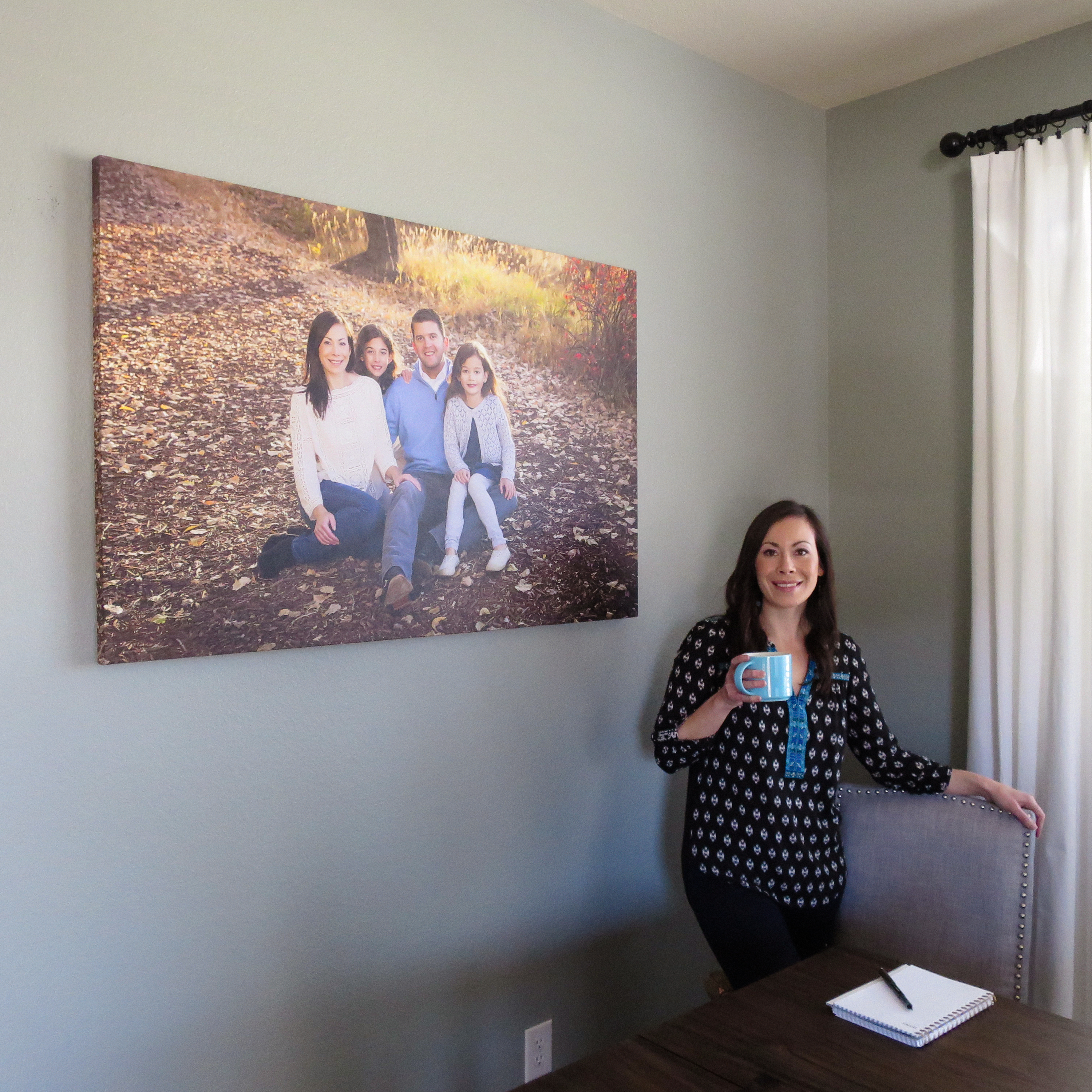 Broomfield Family Portraits - Large Wall Canvas by Natascha Lee Studios