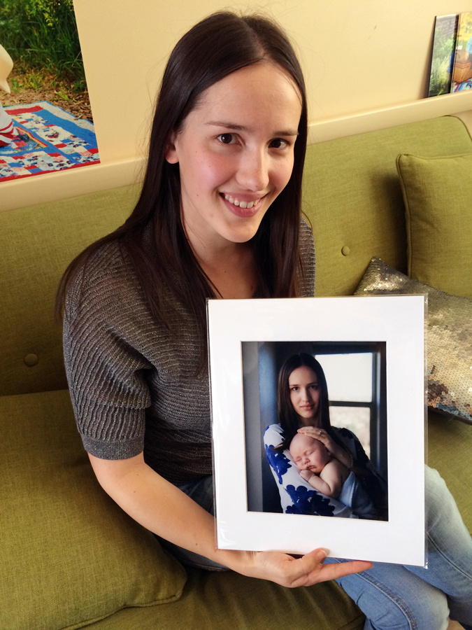 Denver Mom and her Baby - Newborn Photos