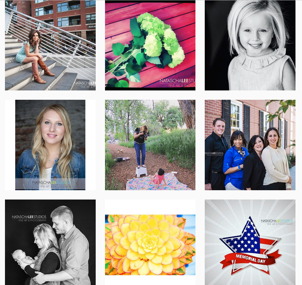 Denver Family Photography Instagram Feed