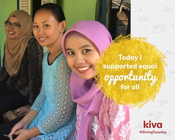 Kiva Giving Tuesday