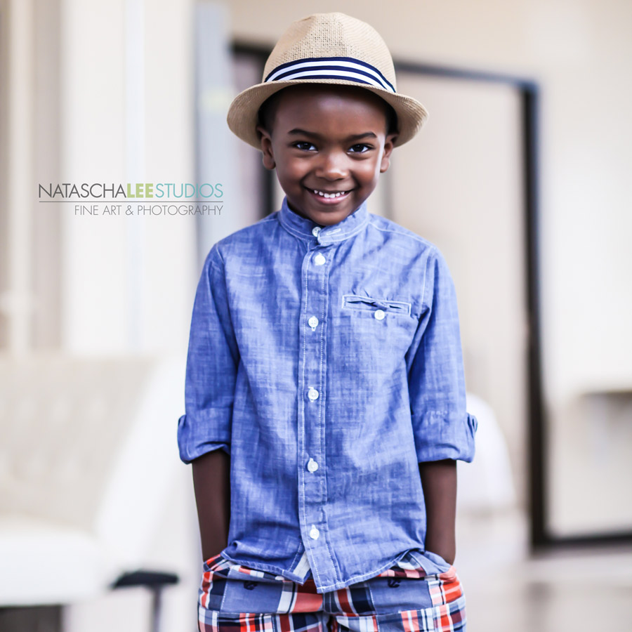 Beautiful Boys in Classic Blue Button Down- Denver Child Models