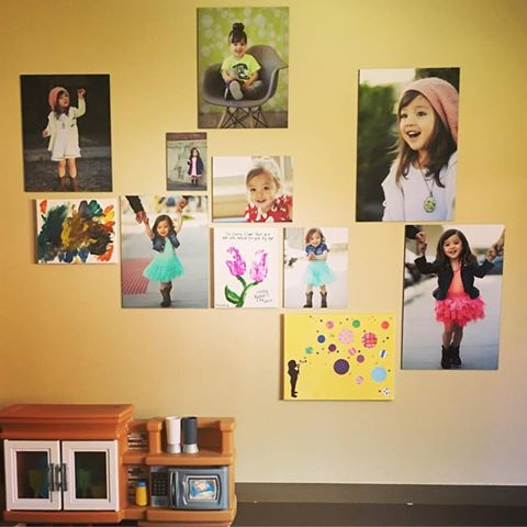 Idea for displaying Denver Child Model Portfolio Images