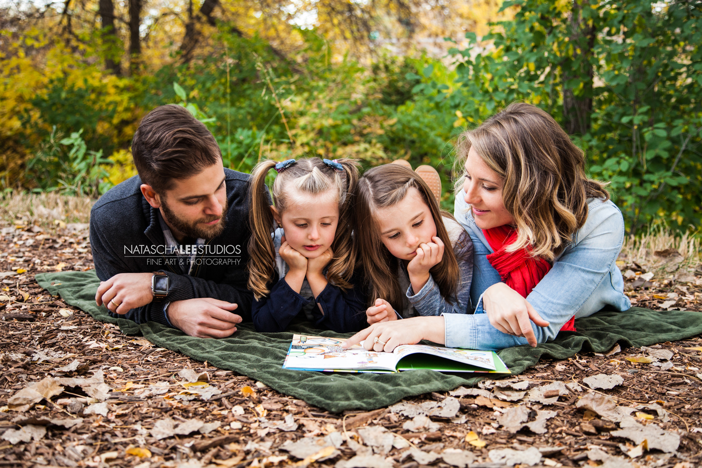 Denver Family Photography -Book lovers