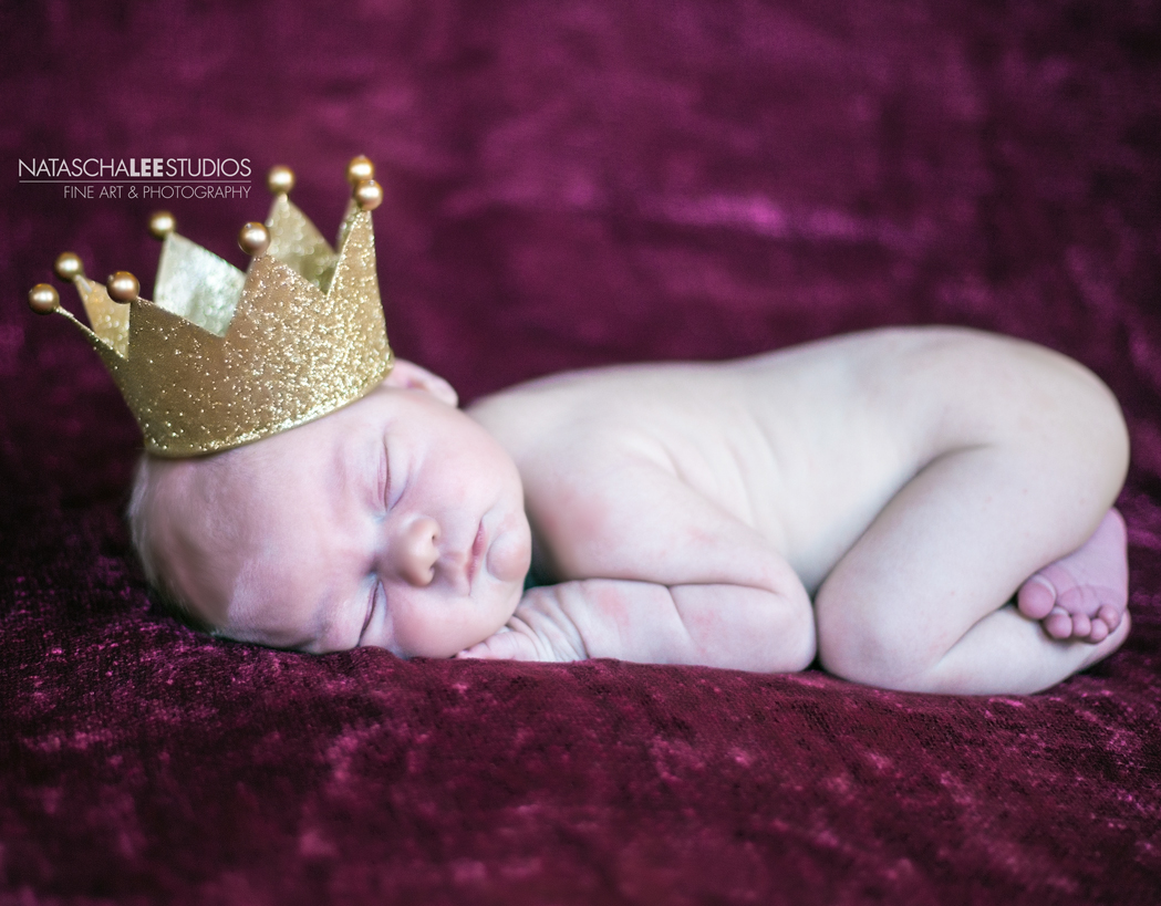 Denver Baby Photography - Gold Crown
