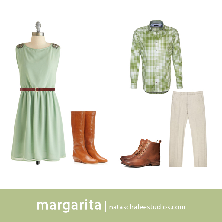 What to Wear for Spring Couples Portraits: Margarita