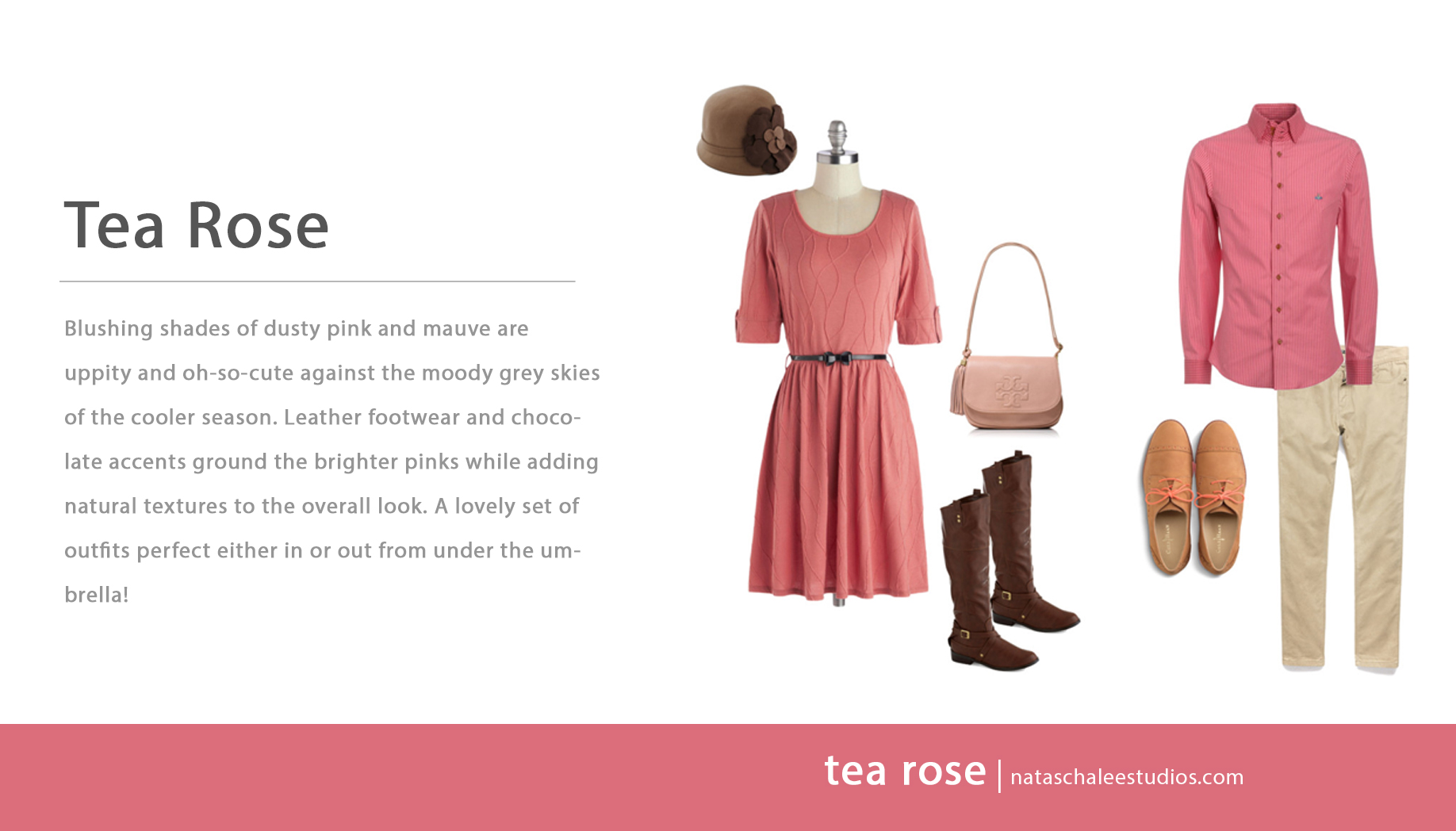 What to Wear for Family Portraits : Tea Rose