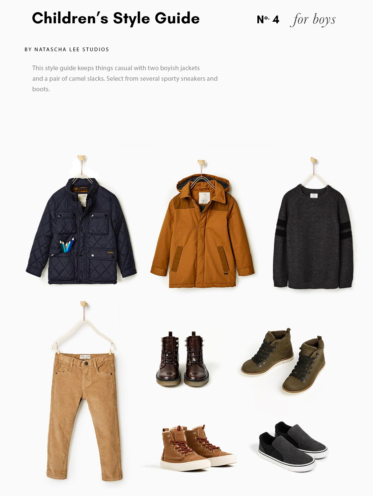 Boy's Style Guide No 4 – 6