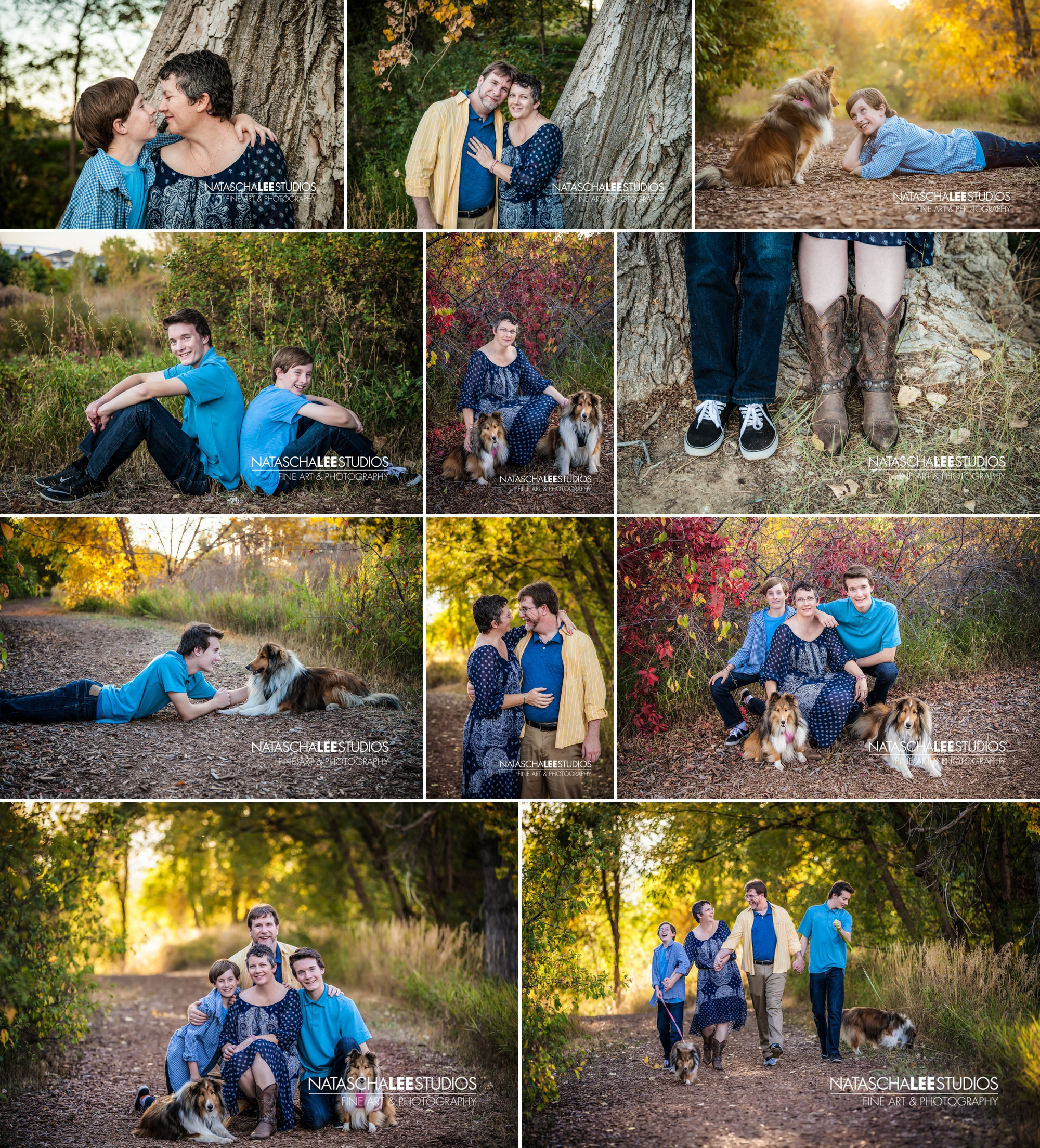 Family Photo Session with Dogs in Broomfield or Westiminster